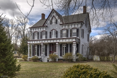 Tewksbury Twp. Single Family Home For Sale: 9 Old Turnpike Rd