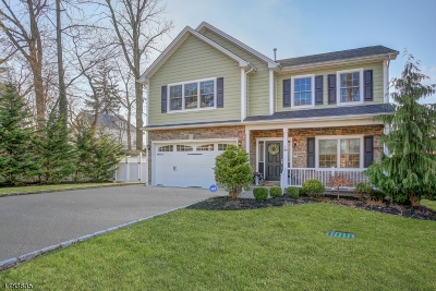 Cranford Twp. Single Family Home For Sale: 106 Arlington Rd