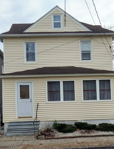 RAHWAY Single Family Home For Sale: 74 W Cherry St