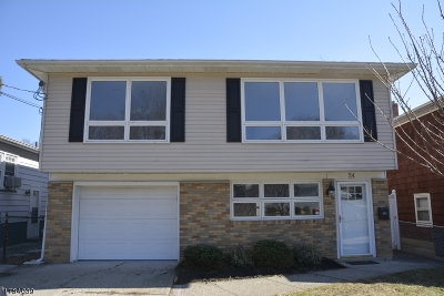 Nutley Twp. Single Family Home For Sale: 24 Parallel St