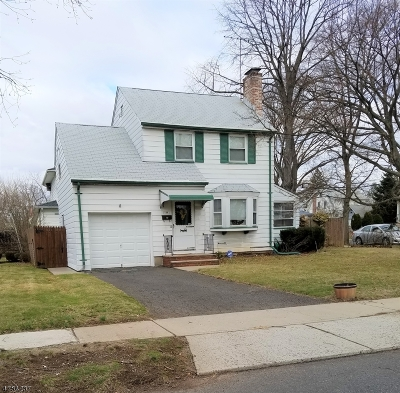Union Twp. Single Family Home For Sale: 109 Headley Ter