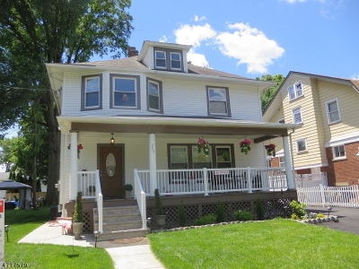 RAHWAY Single Family Home For Sale: 280 W Hazelwood Ave