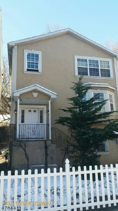 Paterson City Multi Family Home For Sale: 189 W Broadway