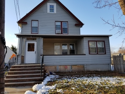 Rahway City Multi Family Home For Sale: 1498 Church St