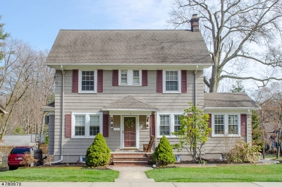 Maplewood Twp. Single Family Home For Sale: 448 Ridgewood Road