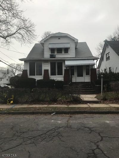 HILLSIDE Single Family Home For Sale: 231 Arthur St