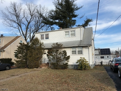 Paterson City Single Family Home For Sale: 25-27 E 35th St