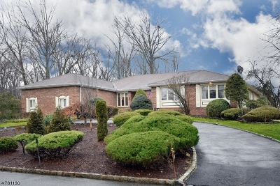 Florham Park Boro Single Family Home For Sale: 3 Woodbine Rd