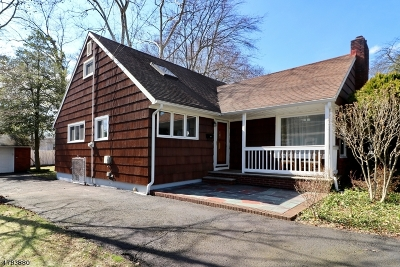WestField Single Family Home For Sale: 1098 Rahway Ave