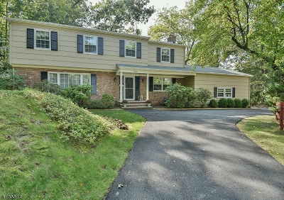 New Providence Boro Single Family Home For Sale: 142 Tall Oaks Dr