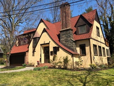Millburn Twp. Single Family Home For Sale: 10 Wyndham Rd