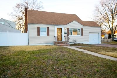 LINDEN Single Family Home For Sale: 1300 Prospect Dr