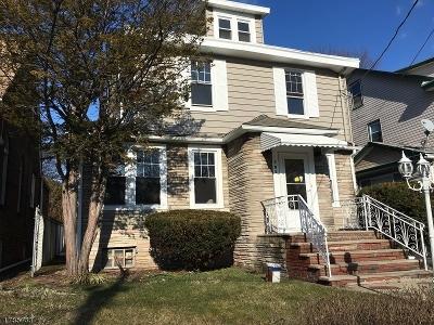 HILLSIDE Single Family Home For Sale: 107 Bailey Ave