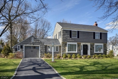 Chatham Boro Single Family Home For Sale: 14 Somerset Ave