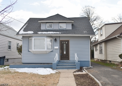 Roselle Park Boro Single Family Home For Sale: 132 W Roselle Ave