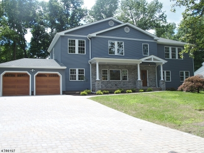 Parsippany-Troy Hills Twp. Single Family Home For Sale: 19 Ogden Pl