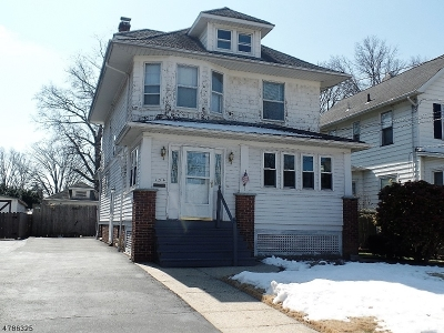 Roselle Park Boro Single Family Home For Sale: 134 E Clay Ave