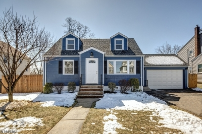 Garwood Boro Single Family Home For Sale: 239 3rd Ave
