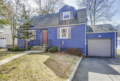 West Orange Twp. Single Family Home For Sale: 32 Mayfair Dr
