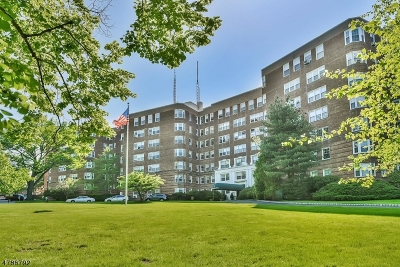Montclair Twp. Condo/Townhouse For Sale: 10 Crestmont Rd 1f #1F