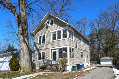 Essex County, Morris County, Union County Multi Family Home For Sale: 71 Wildwood Ave