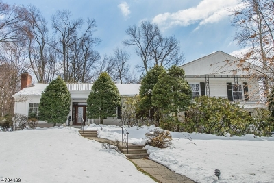 West Orange Twp. Single Family Home For Sale: 88 Edgewood Ave