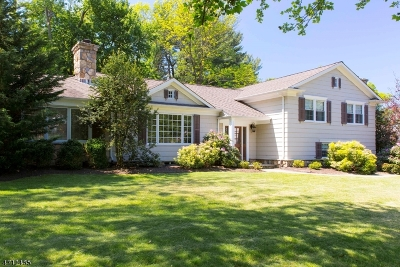 Chatham Twp. Single Family Home For Sale: 2 Runnymede Rd