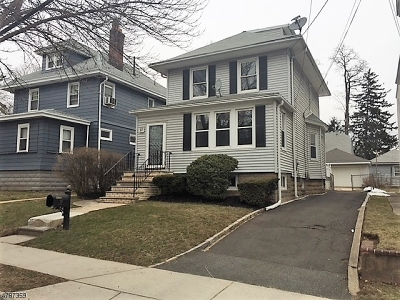 West Orange Twp. Single Family Home For Sale: 97 Swaine Pl