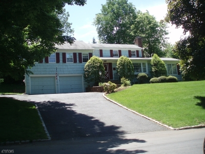 Millburn Twp. Single Family Home For Sale: 9 Fielding Rd