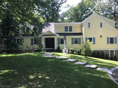New Providence Boro Single Family Home For Sale: 9 Countryside Dr