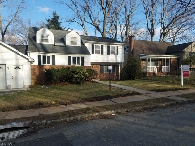 West Orange Twp. Single Family Home For Sale: 10 Garfield Ave