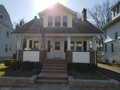 Millburn Twp. Single Family Home For Sale: 8 Rosedale Ave
