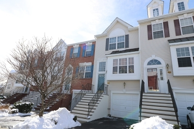 Nutley Twp. Condo/Townhouse For Sale: 214 Swathmore Dr