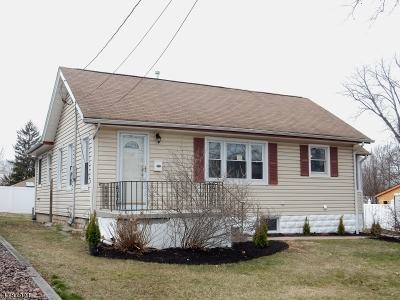 Rahway City Single Family Home For Sale: 138 Rudolph Ave