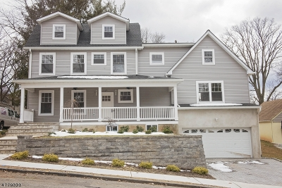 Nutley Twp. Single Family Home For Sale: 109 Mountainview Ave