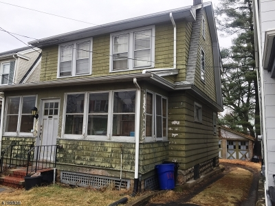 West Orange Twp. Single Family Home For Sale: 134 Franklin Ave