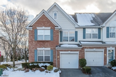 Nutley Twp. Condo/Townhouse For Sale: 112 Cambridge Dr