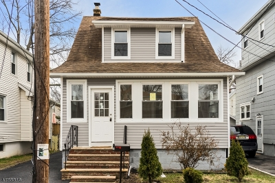 Roselle Park Boro Single Family Home For Sale: 126 Butler Ave