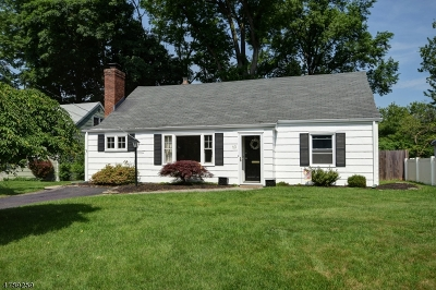 Cranford Twp. Single Family Home For Sale: 10 Heathermeade Pl