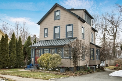 Montclair Twp. Single Family Home For Sale: 41 Central Ave