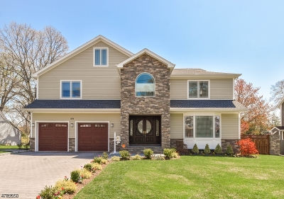 Scotch Plains Twp. Single Family Home For Sale: 2070 Jersey Ave