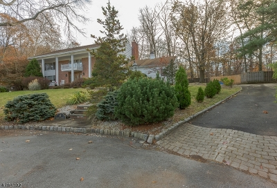 New Providence Boro Single Family Home For Sale: 4 Darby Ct