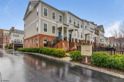 Morristown Town Condo/Townhouse For Sale: 7 Maple Avenue #6