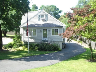 West Orange Twp. Single Family Home For Sale: 606 Mt Pleasant Ave