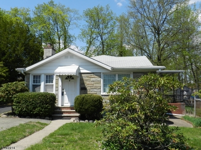 Parsippany-Troy Hills Twp. Single Family Home For Sale: 50 Iroquois Ave