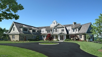Mendham Boro NJ Single Family Home For Sale: $3,495,000