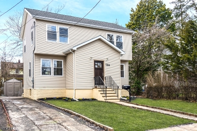 Rahway City Single Family Home For Sale: 786 Central Ave