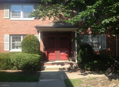 Millburn Twp. NJ Rental Rented: $1,850 (Rental Condo)