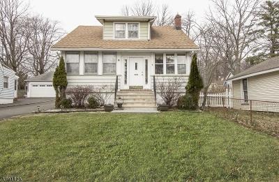 West Orange Twp. Single Family Home For Sale: 1 Oak Ter