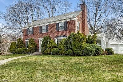 South Orange Village Twp. Single Family Home For Sale: 505 Hartford Court